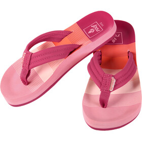 Reef Little Ahi Flips Kids, pink/stripes